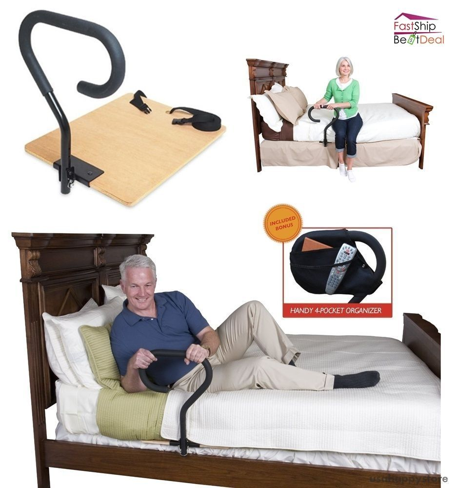 Bed Assist Rail Handle Elderly Support Home Patient