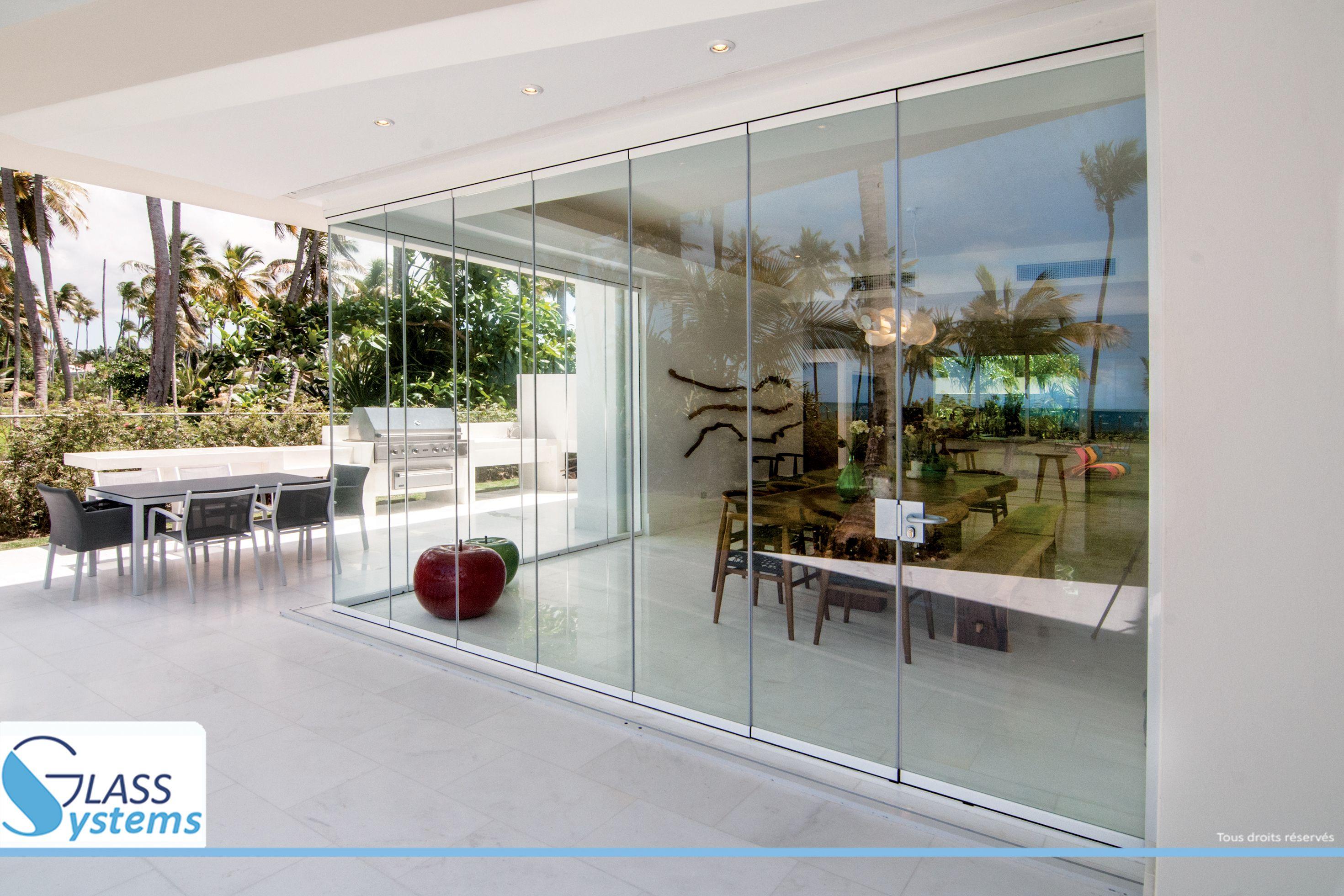Combien Coute Une Baie Vitrée A Galandage image du tableau seeglass one, le rideau de verre 8-10 mm de