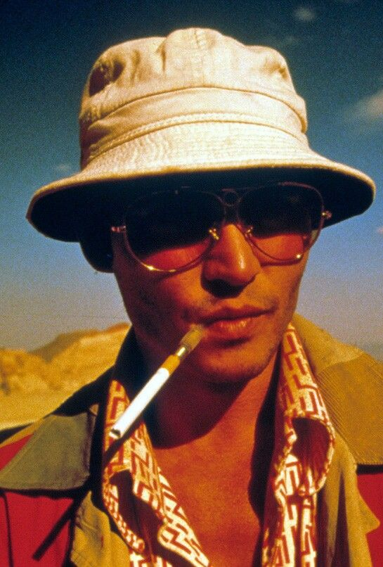 Las Vegas Parano Johnny Depp : vegas, parano, johnny, Loathing, Vegas, Loathing,, Inspiration,, Hunter, Thompson