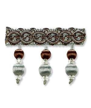 Robert Allen Traditional Bead Fringe Capri Cushions Beads