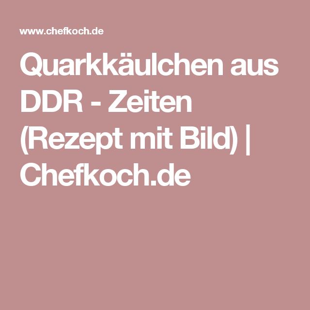 Quarkkäulchen aus DDR - Zeiten (Rezept mit Bild) | Chefkoch.de