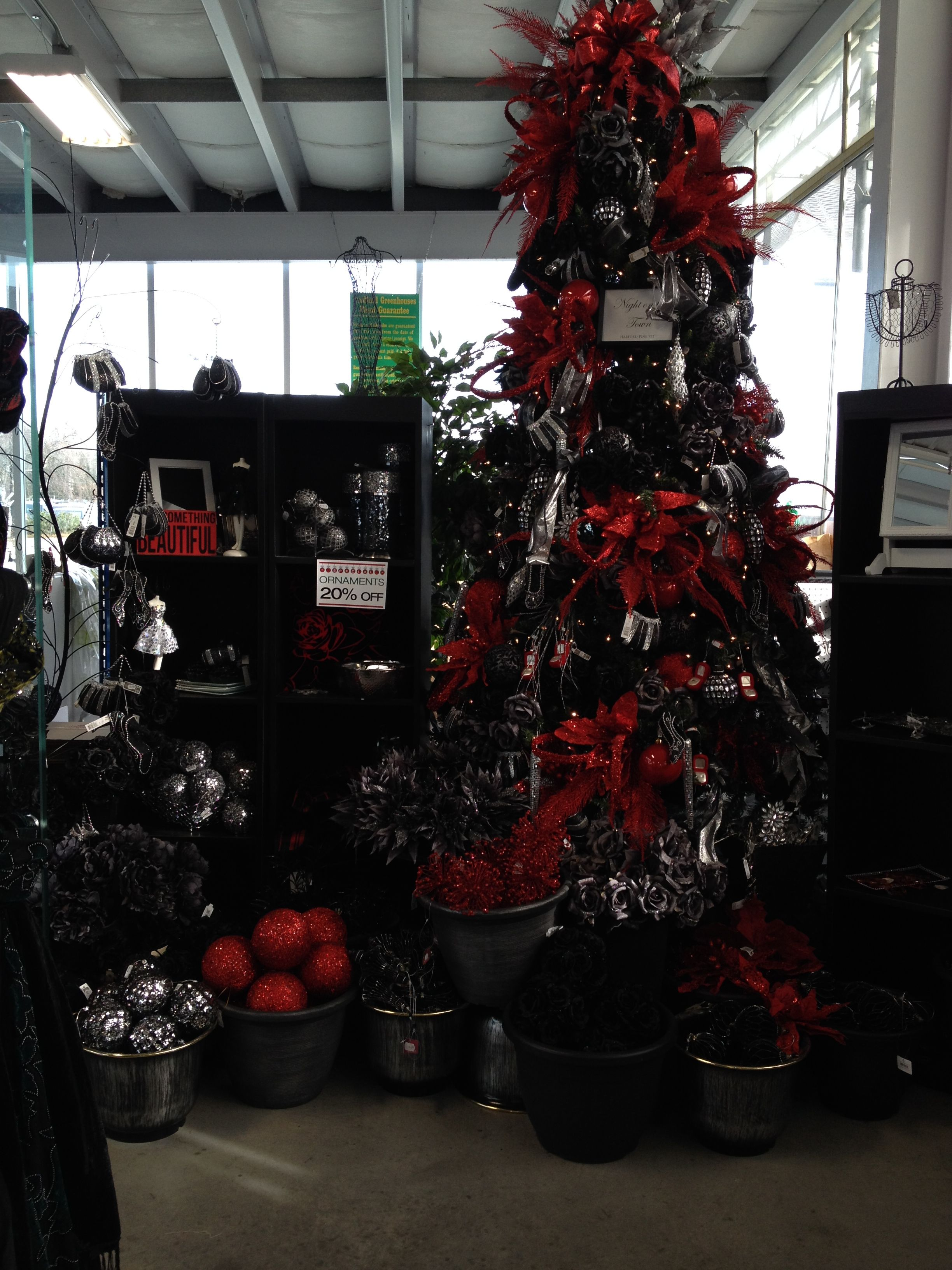 The Decorated Christmas Trees From Bradford Greenhouses