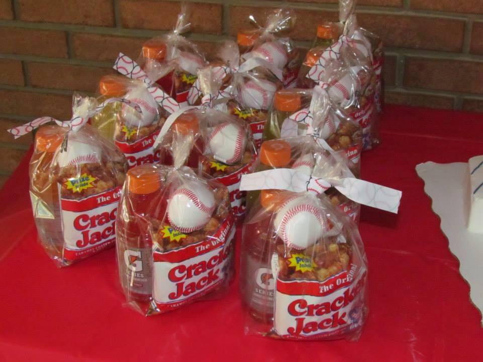 Goodie Bags So Much You Could Docracker Jacks Baseballs