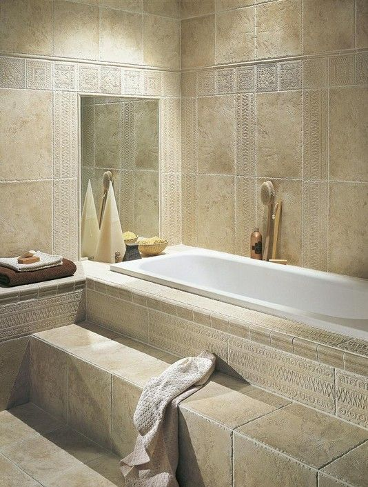 I Would Eventually Love To Redo Our Step Up Tub Into Something Like This.