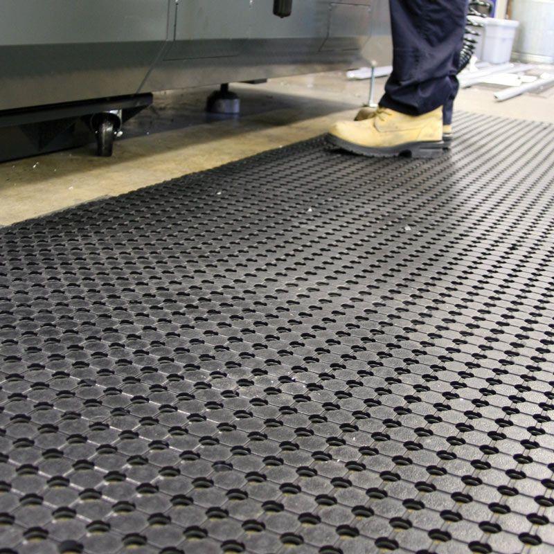 Unimat Drainable Rubber Runner Rubber, Anti fatigue mat