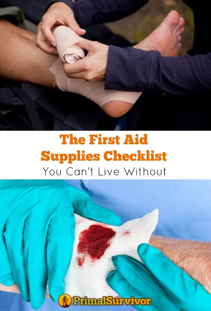 The First Aid Supplies Checklist You Can't Live Without
