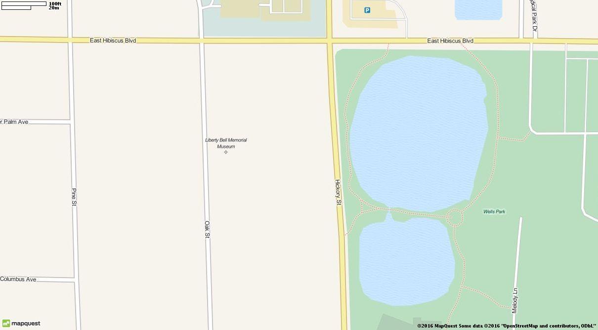 Editable Map Of Holmes Regional Medical Center In Melbourne Florida