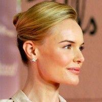 Standard ballroom hair inspiration --Kate Bosworth Formal Sleek French Twist
