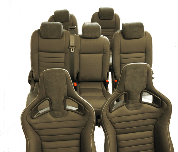 7 Seater #Landrover #defender 110 Custom Leather Seat