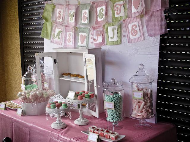 Shabby Chic Candy Buffet-  www.ocsugarmama.com