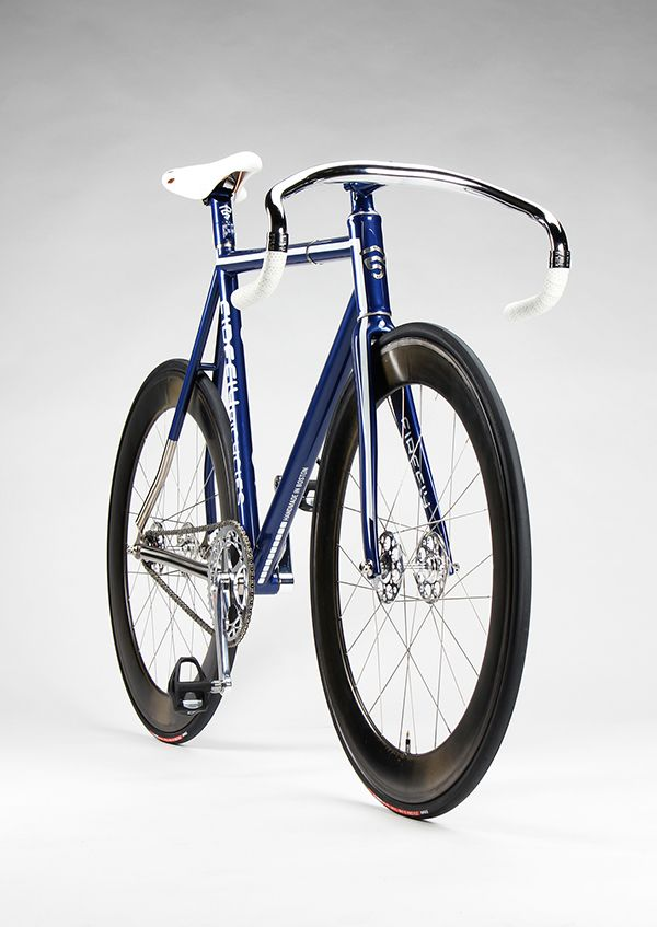 This Firefly Bicycles titanium track build is armed with a