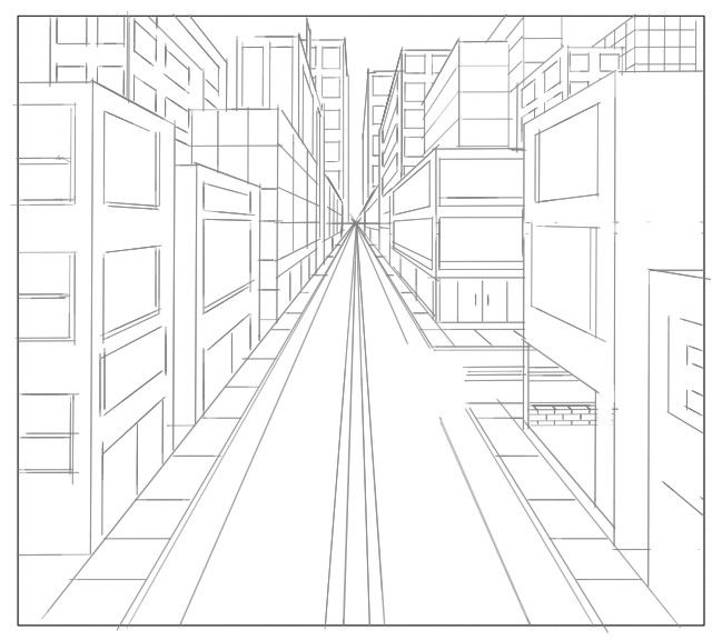 One Point Perspective Bedroom: 1 Point Perspective By Vvincentt.deviantart.com On