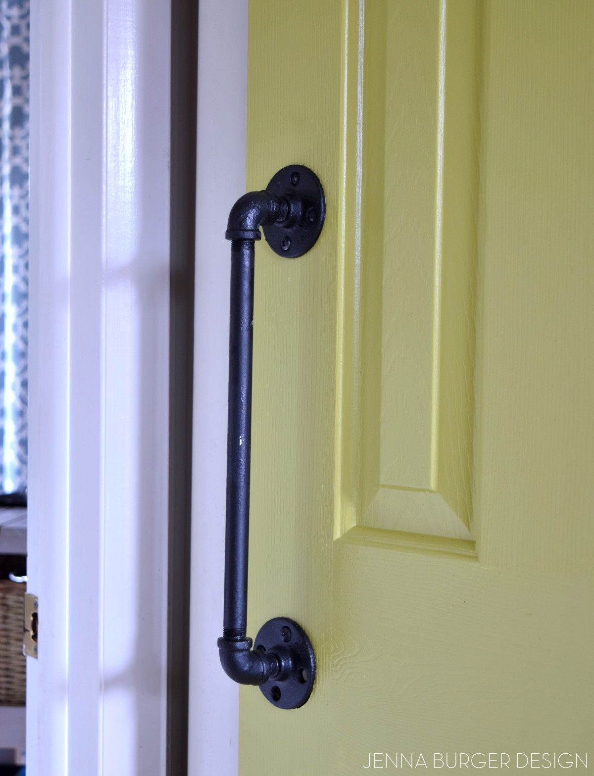 Marvelous DIY: Rolling Door Hardware Using Plumbing Pipe. Get The Look + Function Of  A Rolling Door For About $60. Custom Size To Fit Your Space. Tutorial By  Www.