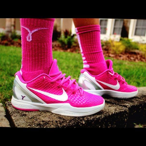 info for 0a7ee 572c0 Nike Kobe 6. Think pink.  kobe  breastcancer  nike  sneakers