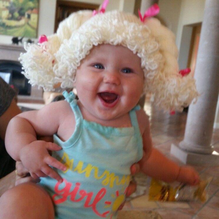 Crochet Cabbage Patch Hat Httppinljoego Fiber Pinterest