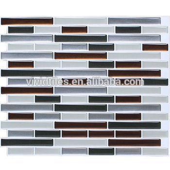 Tile Decoration Stickers Pleasing Wholesale Home Decoration Diy Product Self Stick Backsplash Mosaic Design Decoration