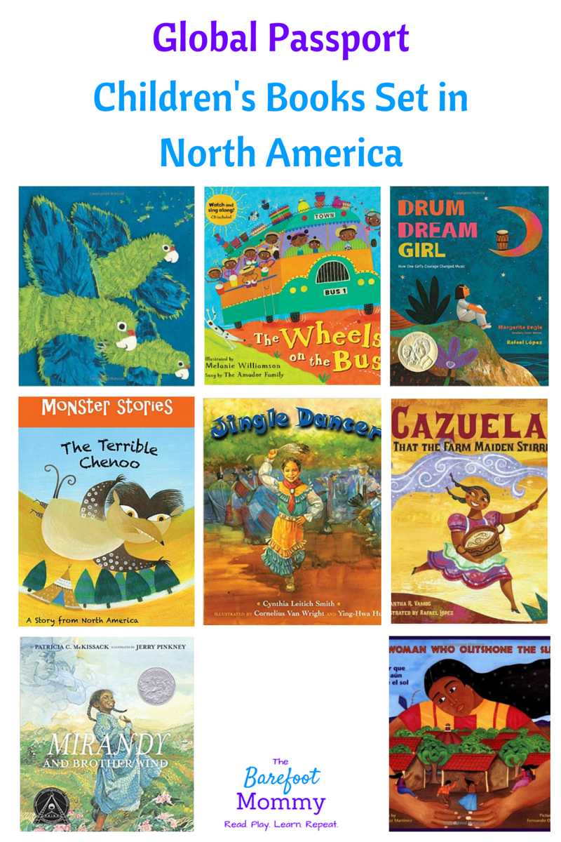 Global Passport Summer Reading: Children's books set in North America.