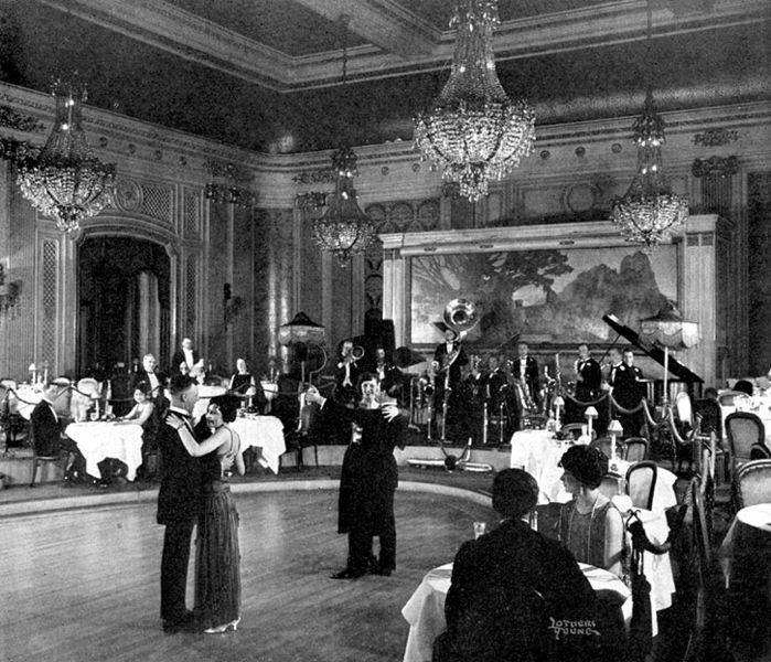 Hotels Of The 1920 S The Palace Hotel Ballroom In 1920