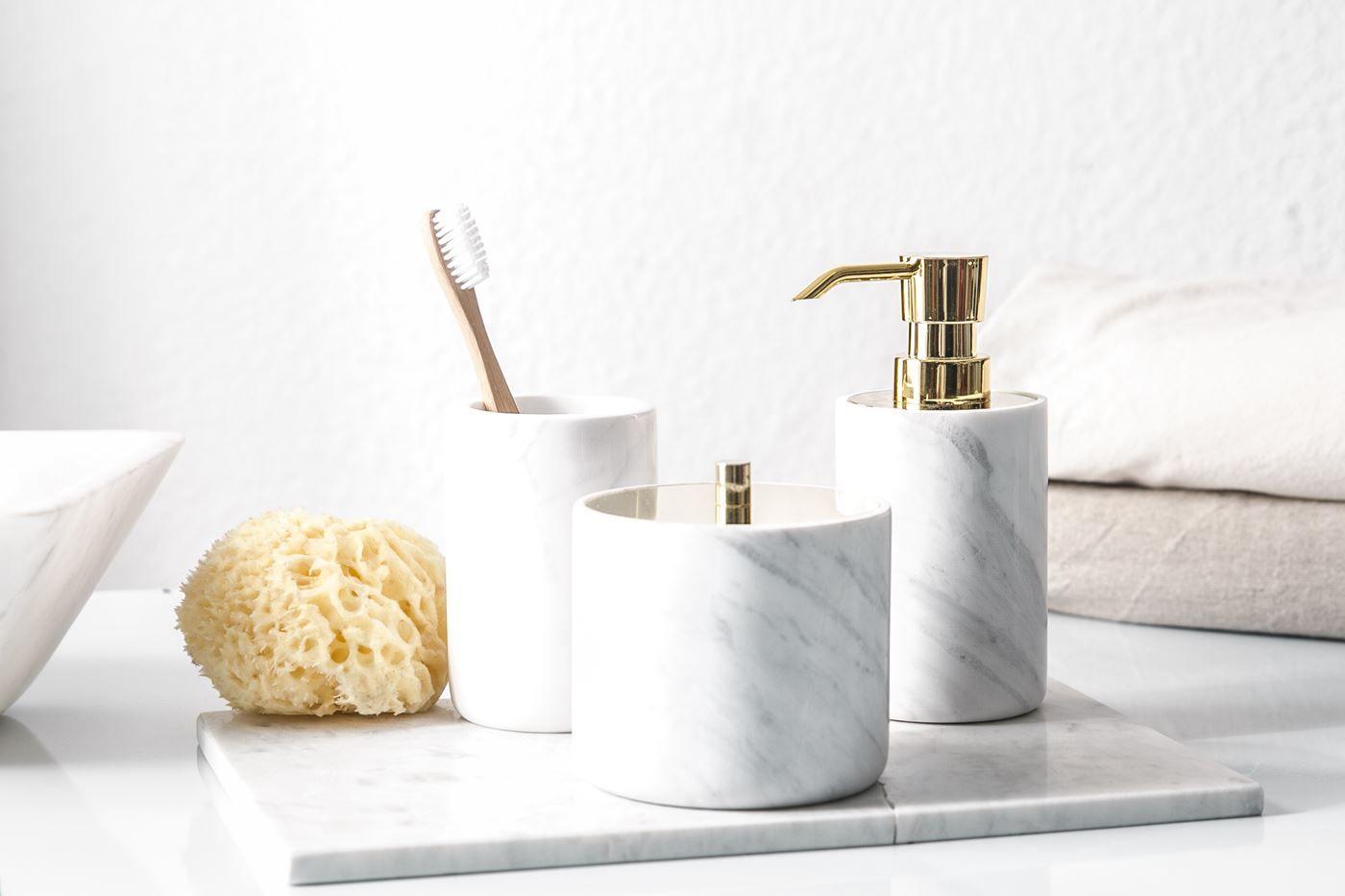 Marble Housewares Image By Yuhan Jeng Soap Dispenser