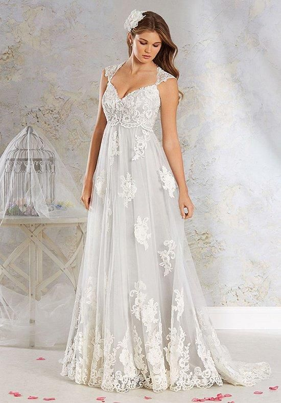 Modern Vintage By Alfred Angelo 8538 Wedding Dress The Knot