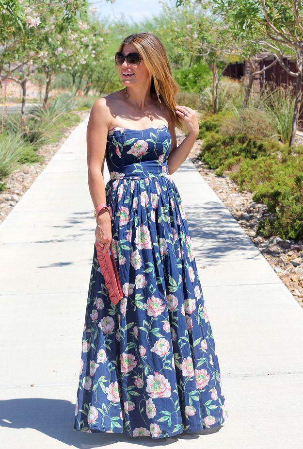 1000  images about dresses on Pinterest  Floral print maxi dress ...