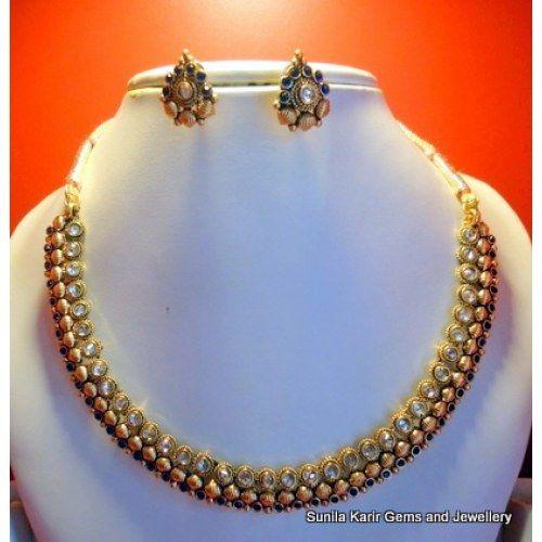 Gorgeous Antique Golden Necklace