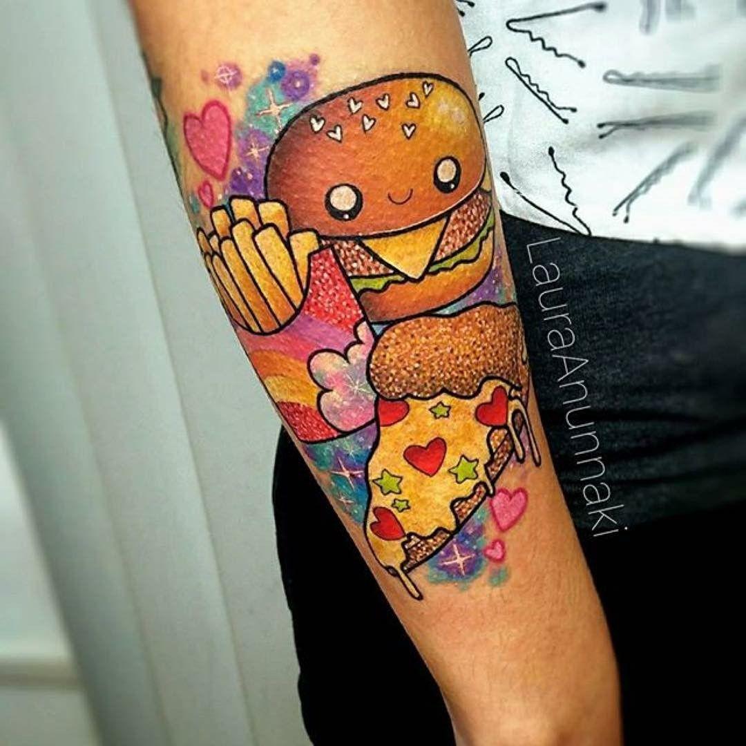 пин от пользователя Marishka на доске дичччччч татуировки тату и еда