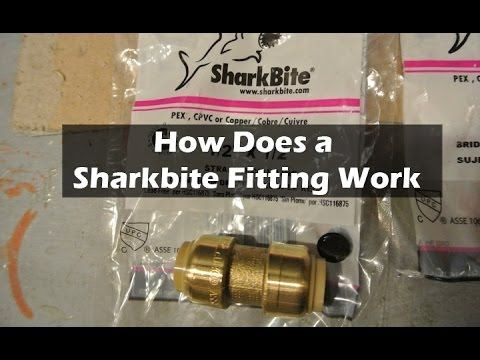 This video goes over how a  SharkBite  coupling works. They are a brand of press on plumbing fittings. They can work with copper or pex pipe. & How to Fix a Water Leak with a