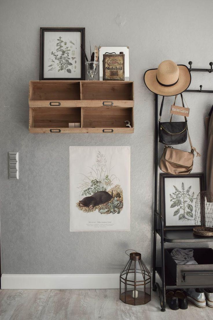 garderobe diele flur ideen eingangsbereich gestalten deko dekoidee