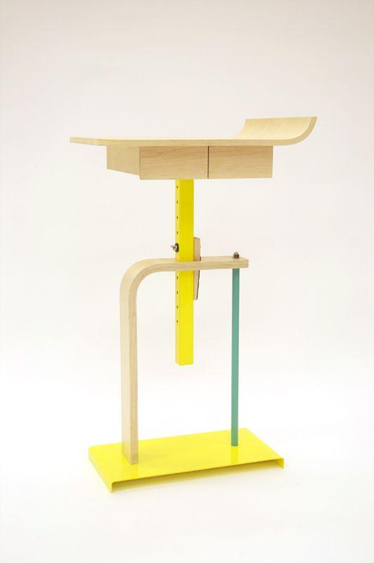 Alex Chow . Platform Side Table