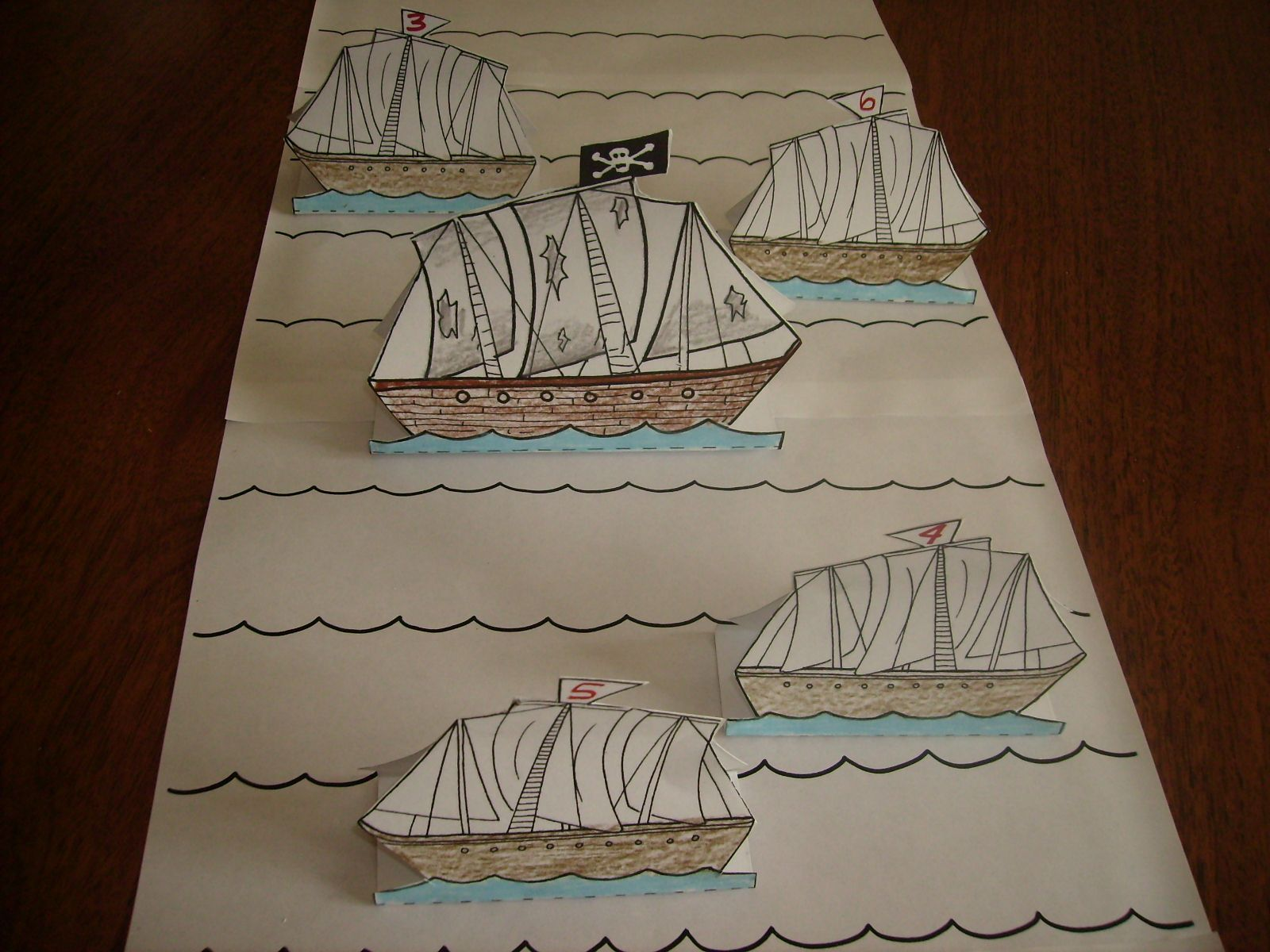 Loot The Pirate Ship Math Game Includes Free Downloadable