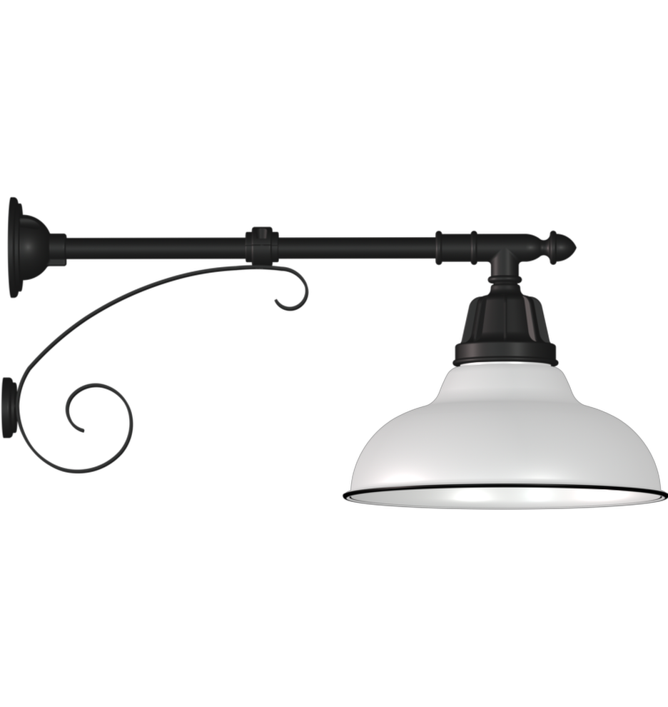 Carson Straight Arm Wall Fixture Wall Fixtures Wall