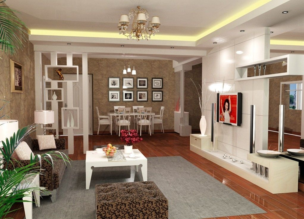 Ideas for decorating a living room on a budget for the for Idea living room design interior