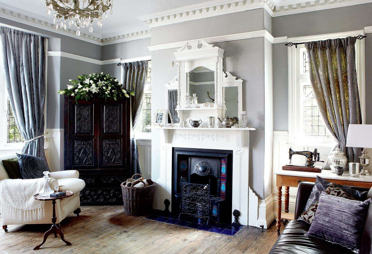 Edwardian Living Room Designs Home following in the footsteps of her renovating family, maria