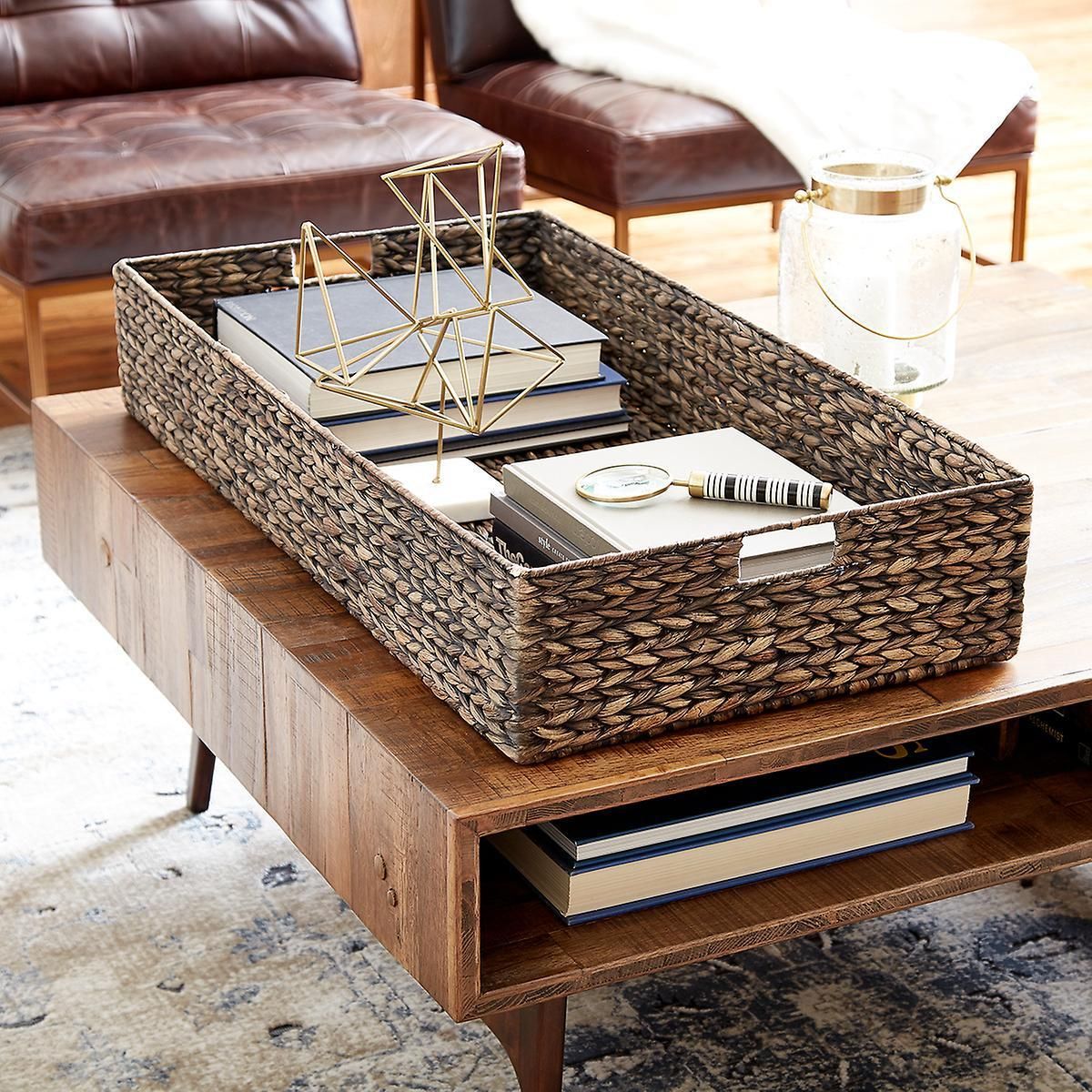 Add a touch of style and organization to your coffee table ...