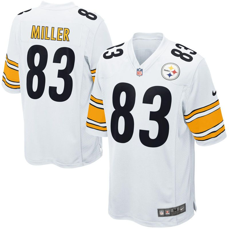 Heath Miller Pittsburgh Steelers Nike Game Jersey - White