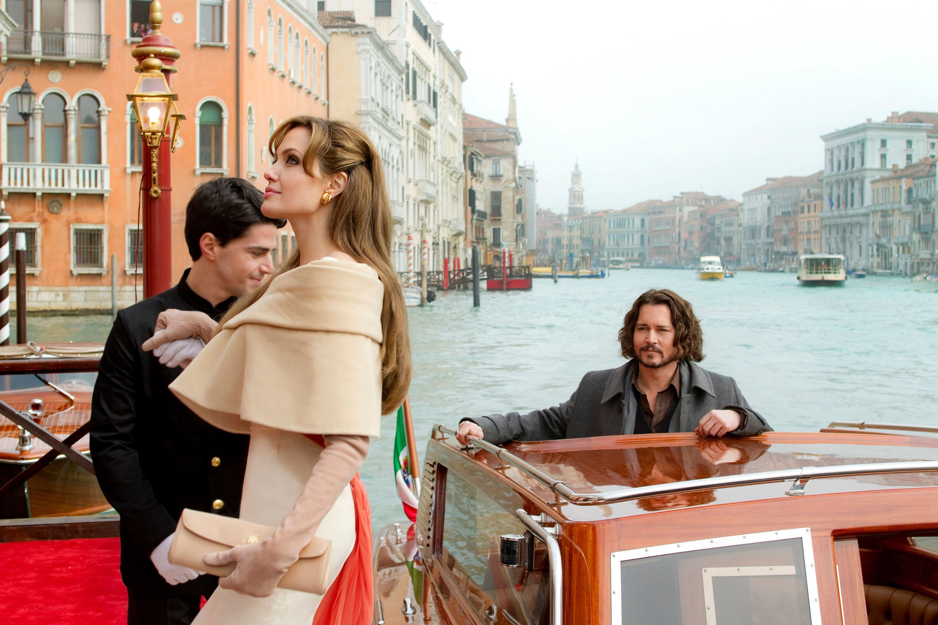 Angelina Jolie Johnny Depp The Tourist With Images The