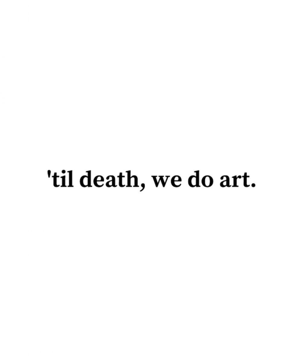 Til Death We Do Art T Shirt For Men Women Size S-M-L-XL-2XL-3XL
