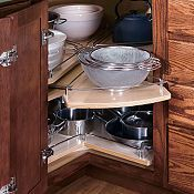 Segmented Super Susan. I need lazy susan cupboards. They are so ...