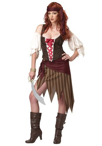 Buccaneer Beauty Pirate Costume - Womens Sexy Pirate Halloween - party city store costumes