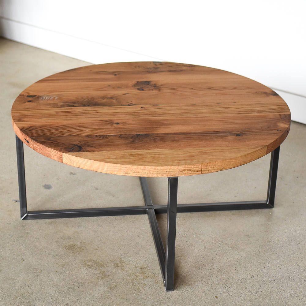 35++ Wood metal coffee table round ideas