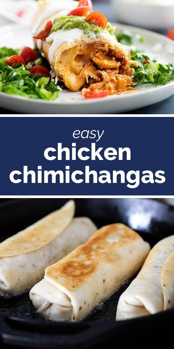 Photo of Chicken Chimichanga Recipe