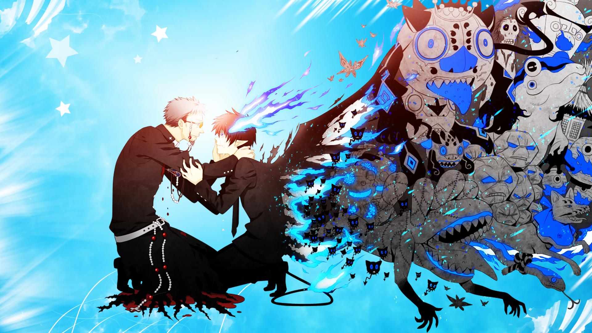 Ao No Exorcist Wallpaper Blue Exorcist Anime Ao No Exorcist Blue Exorcist