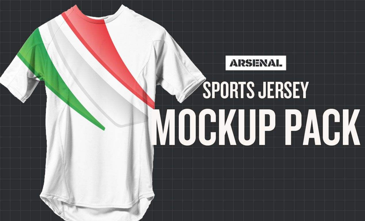 Download Sports Jersey Mockup Template Pack By Go Media Sports Jersey Jersey Mockup Template