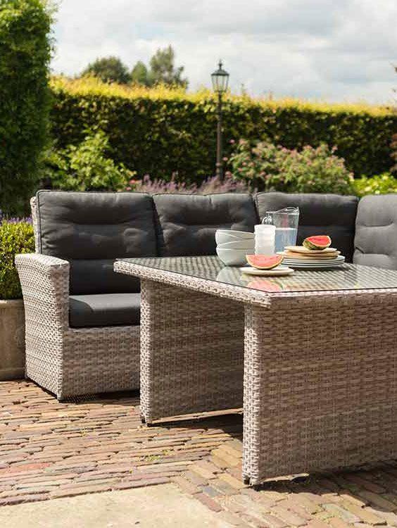 Moderne Gartenmöbelsets Aus Rattan | Loungemöbel Aus Rattan Für Den Garten  | Hartman Loungeset Springfield Https