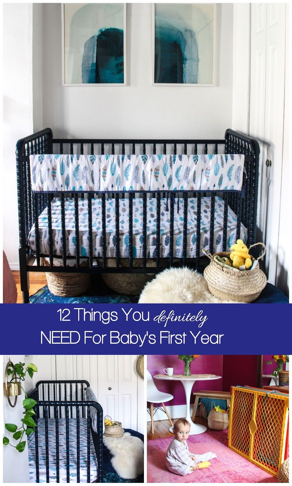12 Things You Definitely Need For Baby S First Year Baby Needs Minimalist Baby Registry Baby Registry Must Haves