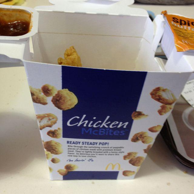 Chicken mc bites