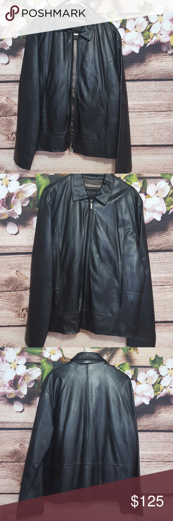 Mens Wilson S Leather Jacket Wilsons Leather Jacket Wilsons Leather Clothes Design [ 1740 x 580 Pixel ]