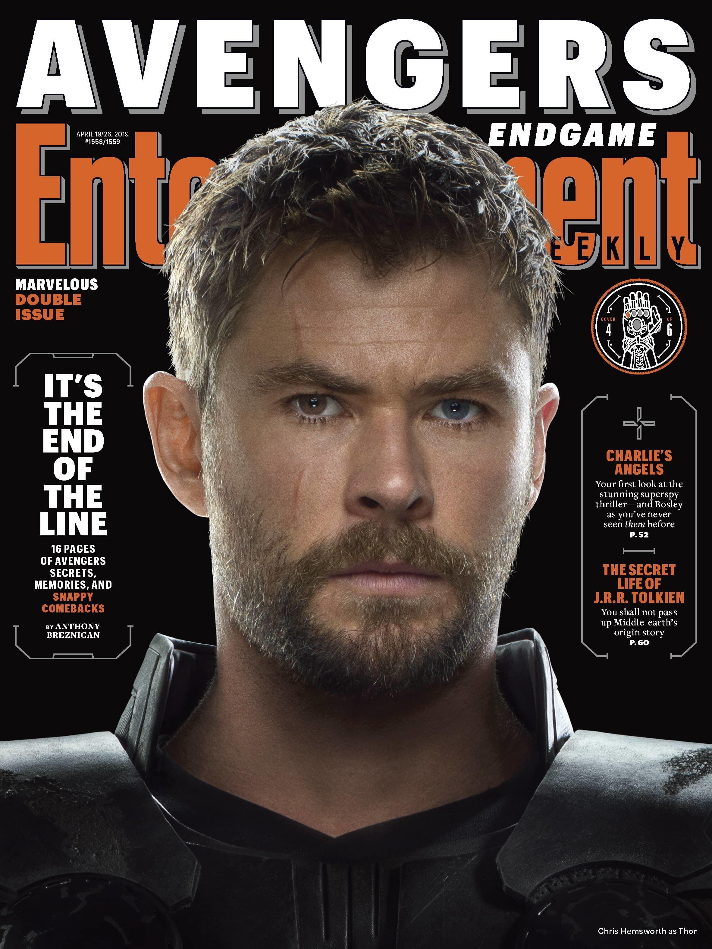 Entertainment Weekly Reveals Avengers Endgame Covers   Entertainment Weekly Reveals Avengers Endgame Covers Marvel Entertainment Weekly enthüllt Avengers Endgame Cov...
