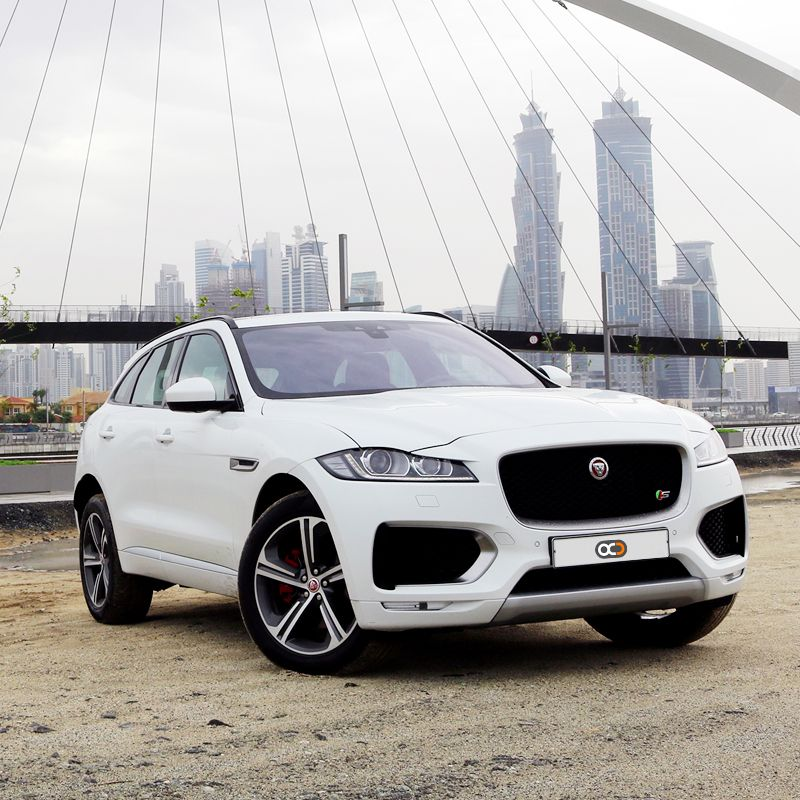 Drive the jaguar f pace first edition for aed 850 day in